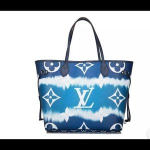 Louis Vuitton escale neverfull mm handbag tote